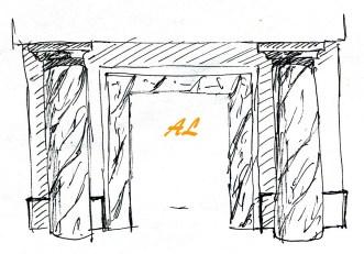 Fachada exterior para templo 1