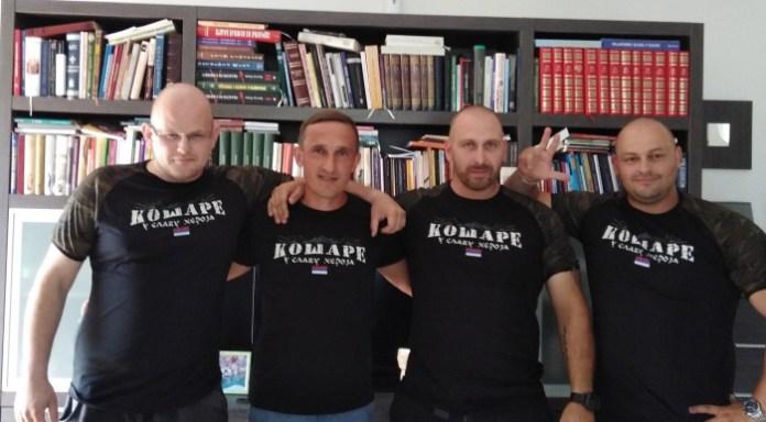 С лева на десно: Јан Урбанчик, Димитрије Марковић, Давид Млинек и Јан Чопак. Даниел Шварц овога пута није могао да дође, Фото: recineeu.wordpress.com