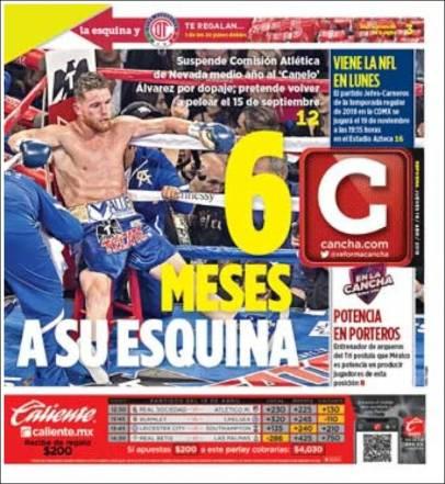 Diarios Deportivos del 19 de abril de 2018