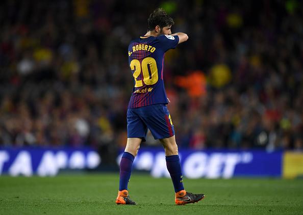 Sergi Roberto, sancionado con 4 partidos: el Barça recurrirá