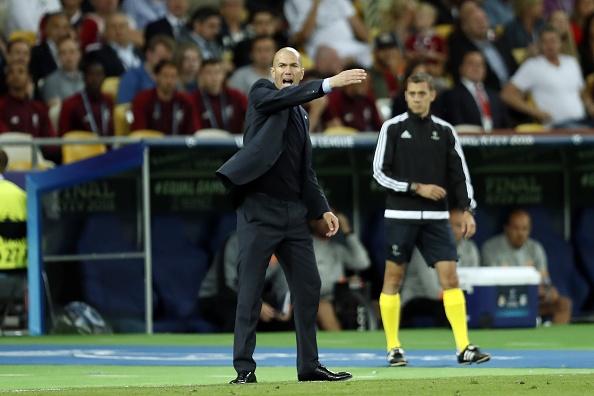 Zidane volvió a hacer historia con el Real Madrid
