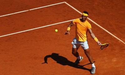 Rafa Nadal clasificó a la final de Roma.