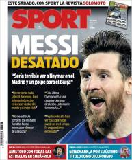 Messi cree que si Neymar llega al Real Madrid sería una mala decisión en su carrera (Sport)