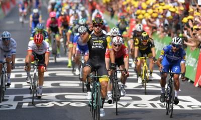 Groenewegen repitió triunfo en la octava etapa