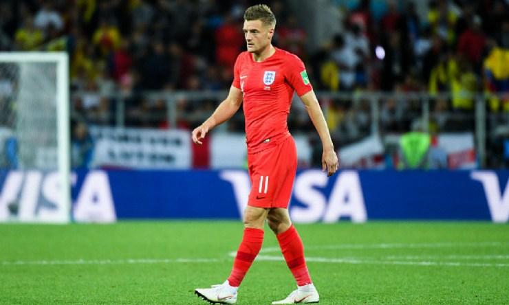 Jamie Vardy se retiró de la Selección
