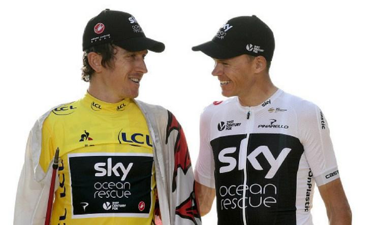 Froome y Thomas renunciaron a la Vuelta