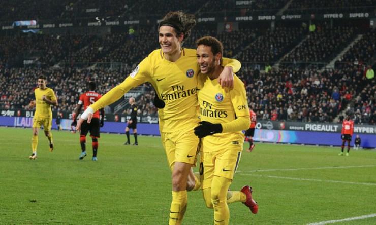 Cavani y Neymar serán galardonados