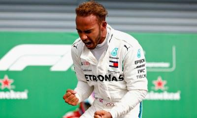 Nueva victoria de Lewis Hamilton