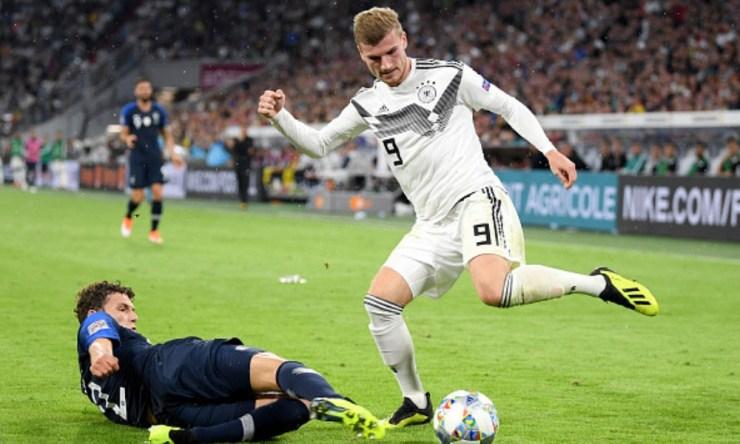 Alemania y Francia debutaron en la Liga de Naciones