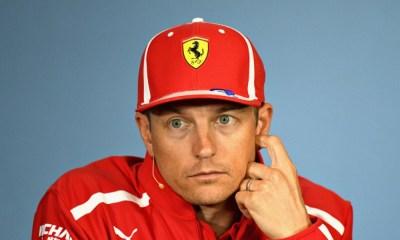 Räikkönen se va de Ferrari