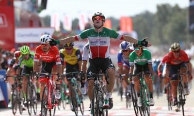 Elia Viviani ganó la décima etapa