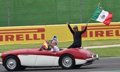 Así fue el desfile previo al GP de México