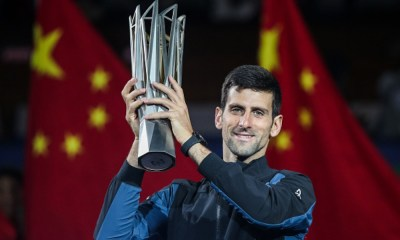 Djokovic conquistó el Masters de Shanghai