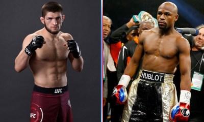 Khabib Nurmagomedov invitó a pelear a Floyd Mayweather