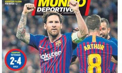 diarios deportivos del 4 de octubre de 2018