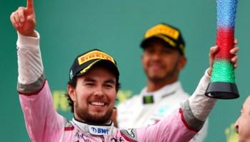 evolución de 'Checo' Pérez en la Formula 1