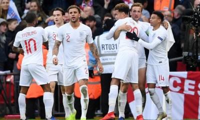 Inglaterra remontó ante Croacia