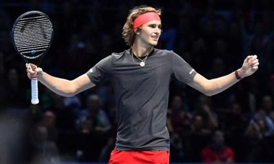 Zverev clasificó a la final del ATP World Tour