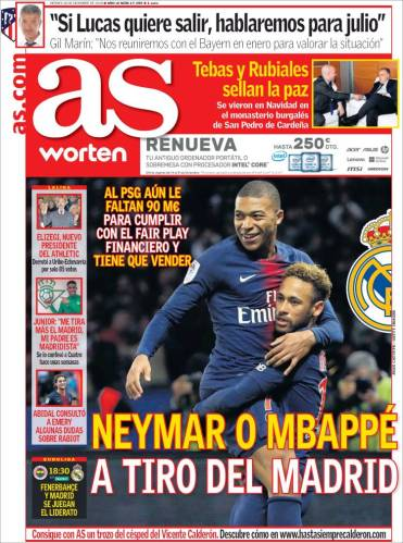 diarios deportivos del 28 de diciembre de 2018