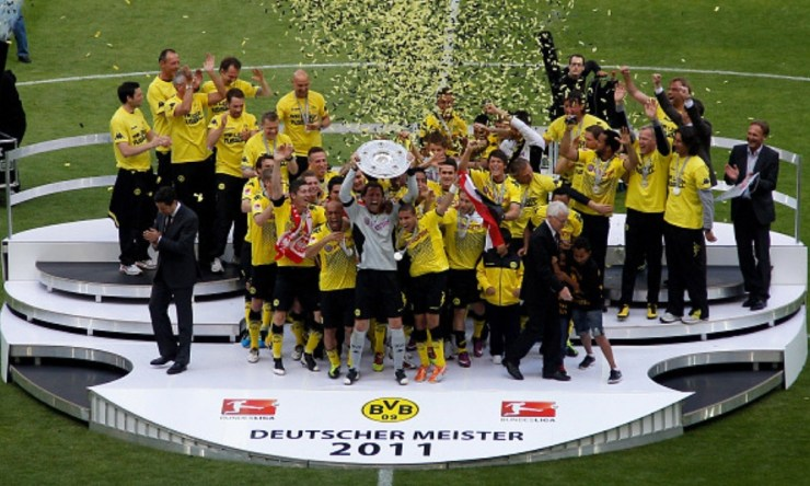 campeón de invierno el BVB