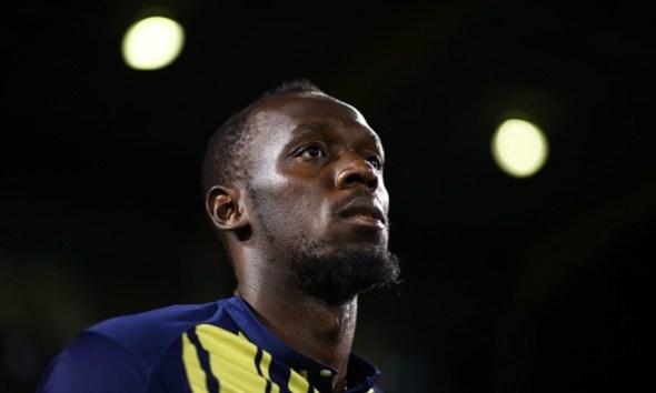 Usain Bolt se retiró del futbol