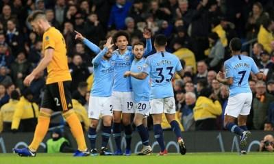 Manchester City goleó a los Wolves