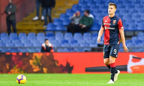 Piatek llega al Milán