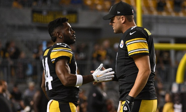 Steelers escucharán ofertas por Antonio Brown