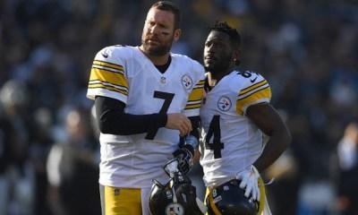 Steelers escucharán ofertas por Antonio Brown