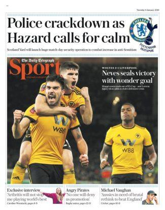 diarios deportivos del 08 de enero de 2019