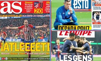 diarios deportivos del 21 de febrero de 2019
