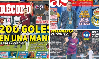diarios deportivos del 23 de febrero de 2019
