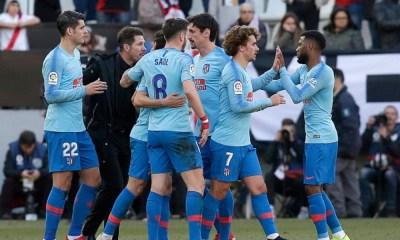 Griezmann le dio el triunfo al Atlético