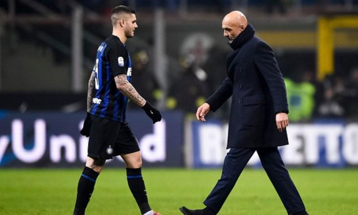 Inter le quitó la capitanía a Icardi