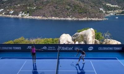 primera ronda del Abierto Mexicano de Tenis