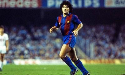 enfermedad de Maradona en el Barcelona