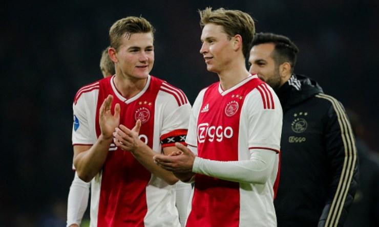 cantera del Ajax vs cartera del PSV