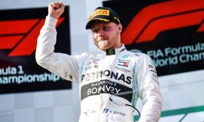 Bottas conquistó el Gran Premio de Azerbaiyán