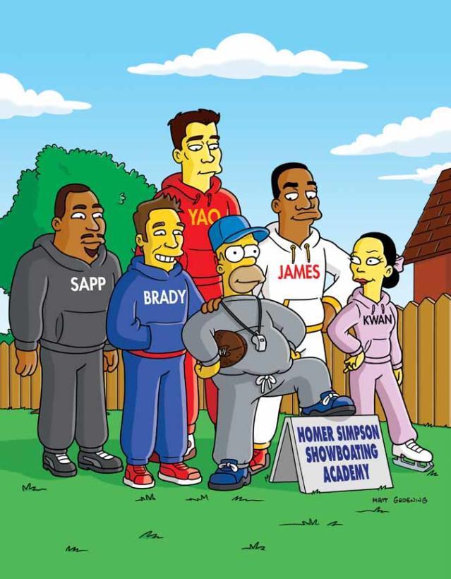 Deportistas Simpson
