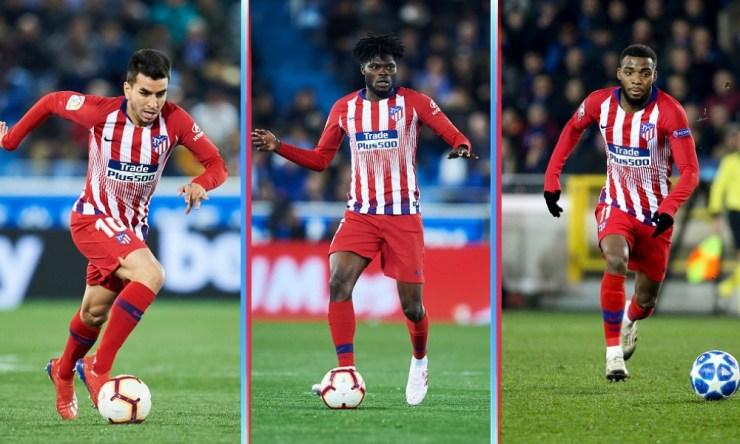 futbolistas contra los que competirá Herrera en el Atlético