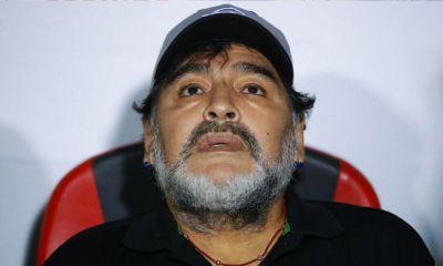 Maradona se despidió de Dorados