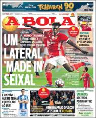 Nuno Tavares, el lateral sensación del Benfica B. (A Bola)