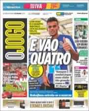 El colombiano Luis Fernando Díaz se convirtió en el cuarto refuerzo del Porto. (O Jogo)