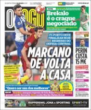 Iván Marcano cerca de regresar al Porto. (O Jogo)