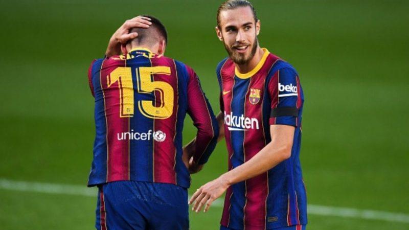 Barcelona sufrió una sensible baja en la defensa