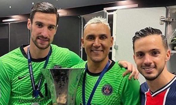 Keylor Navas el jugador de Concacaf con más títulos en Europa