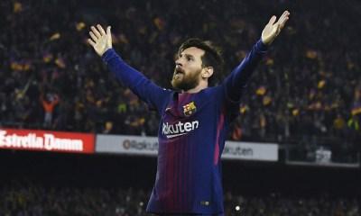 Lionel Messi en el Clásico Español