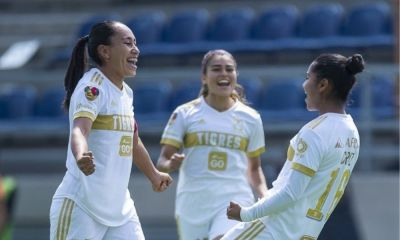 Tigres Femenil goleó a América