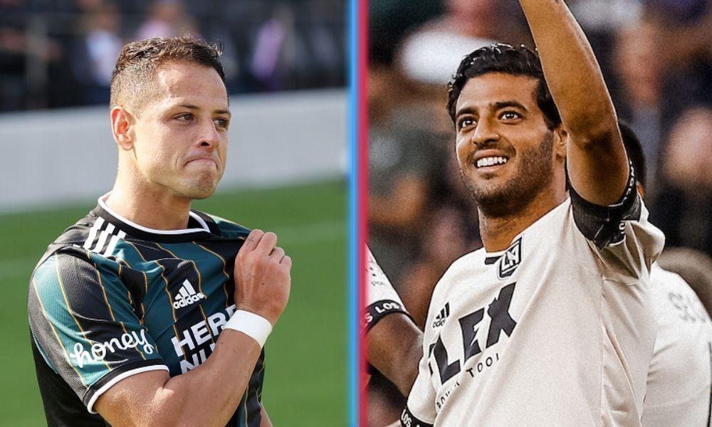 Chicharito Carlos Vela y Efraín Álvarez anotaron en MLS