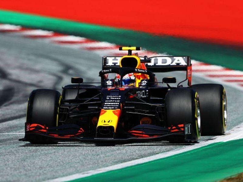 Checo Pérez tercero en Gran Premio de Austria Temporada 2021